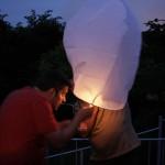 La lanterne asiatique volante