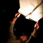 Zoom sur les lanternes asiatiques volantes