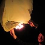 Les lanternes volantes ou de l'art de rendre une cérémonie mémorable.