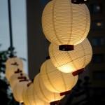Une lanterne chinoise pour un mariage original